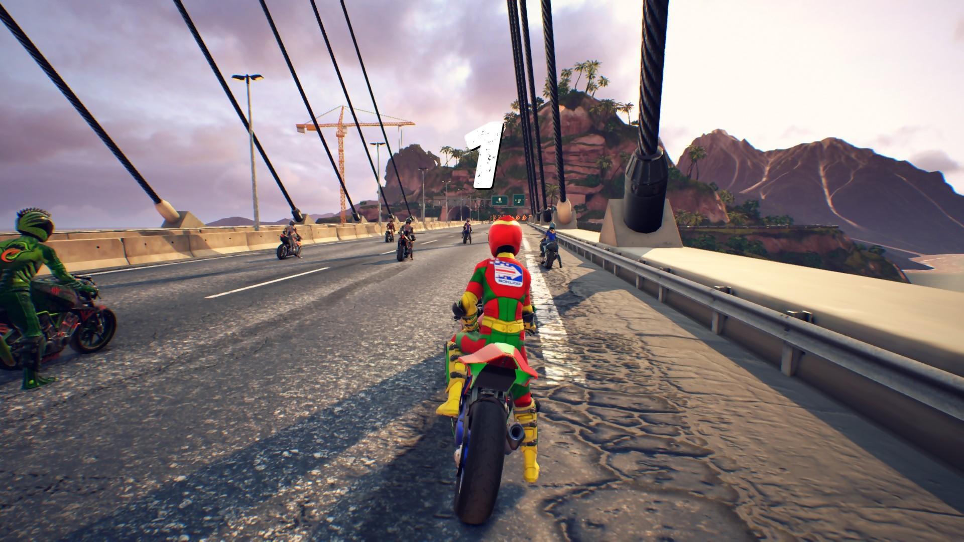 Test moto racer sur ps et xbox one