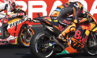 MotoGP 20 : 2 minutes de gameplay avec Rossi sur le Mugello