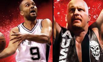 2K Games : baisse de prix pour NBA 2K16 et WWE 2K16