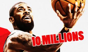 NBA 2K18 : le jeu marque le score incroyable de 10 millions de ventes !