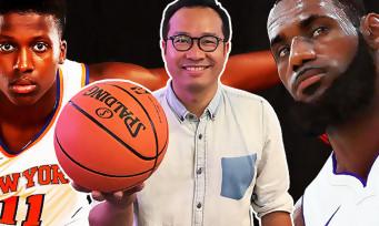 NBA 2K19 : on a rencontré Frank Ntilikina, le nouveau Tony Parker