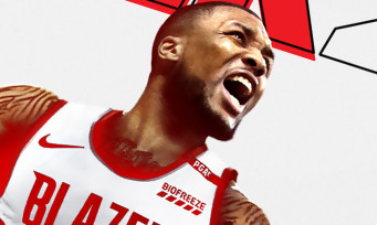 NBA 2K21 : Damian Lillard sera sur les jaquettes PS4 et Xbox One