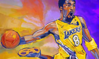 NBA 2K21 : un trailer pour l'édition Mamba Forever avec Kobe