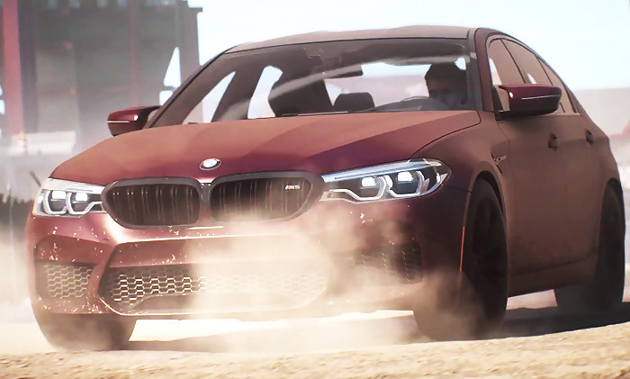 need for speed payback le trailer de la bmw m5 2018. Black Bedroom Furniture Sets. Home Design Ideas