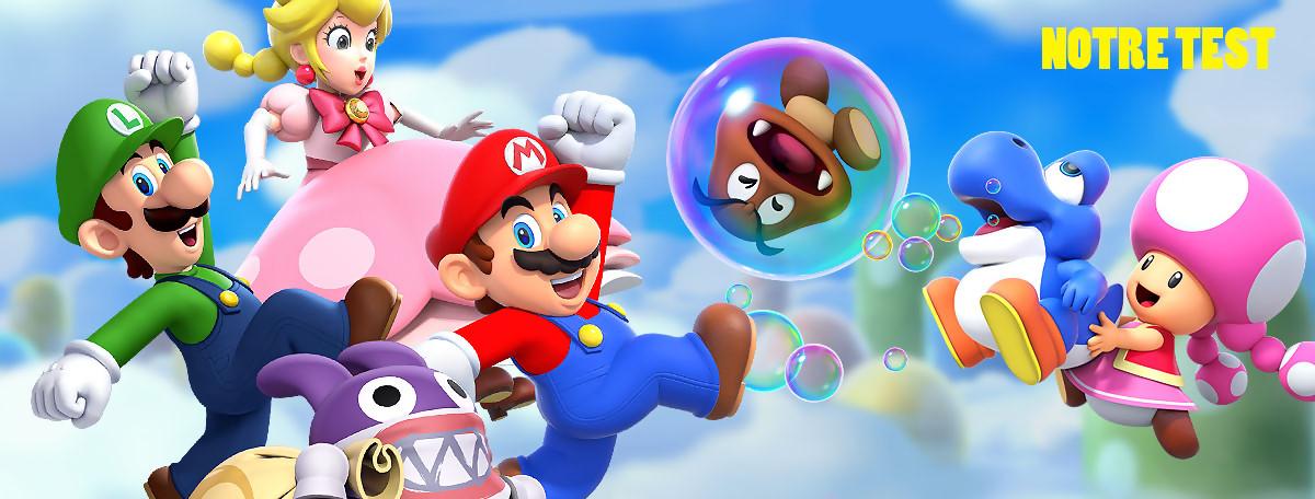 Test New Super Mario Bros. U Deluxe : un portage destiné aux tous petits ?