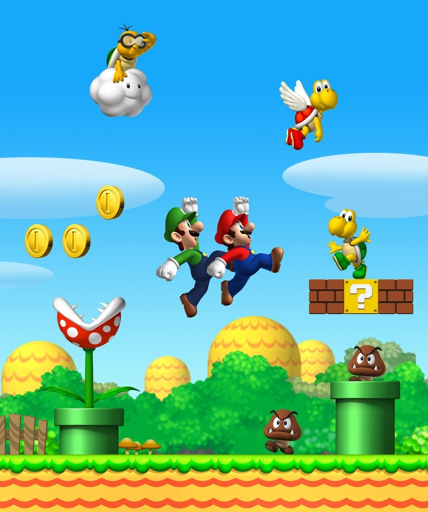 Artworks new super mario bros - Amis de mario ...