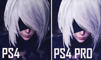 NieR Automata : PS4 vs PS4 Pro, voici le comparatif en vidéo !