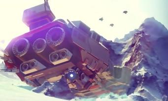 No Man's Sky : trailer de lancement cosmique pour la sortie du jeu sur PS4