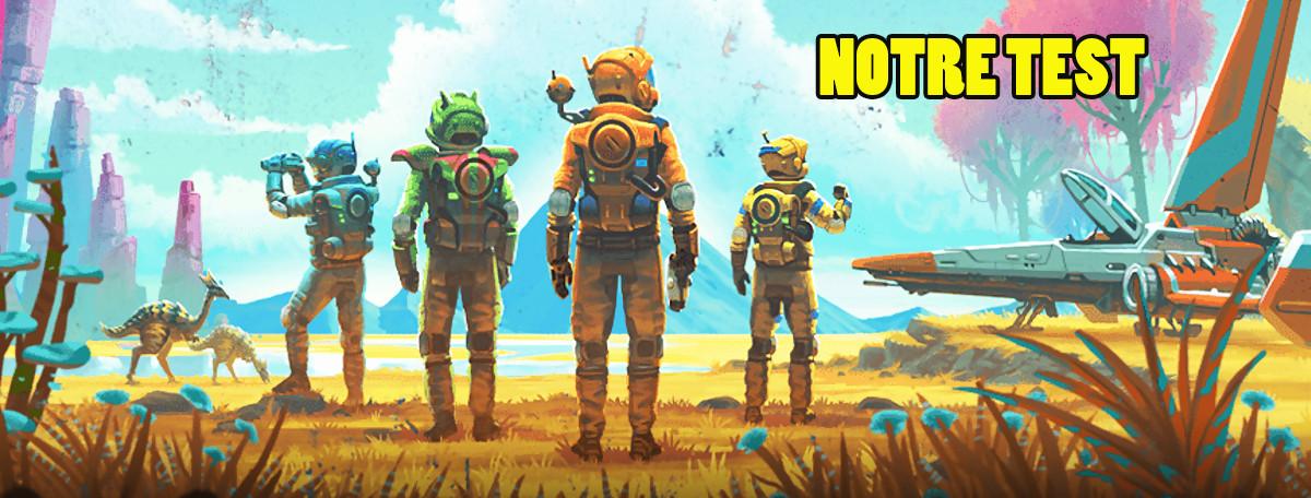Test No Mans Sky Next Les étoiles Enfin Alignées Sur Xbox