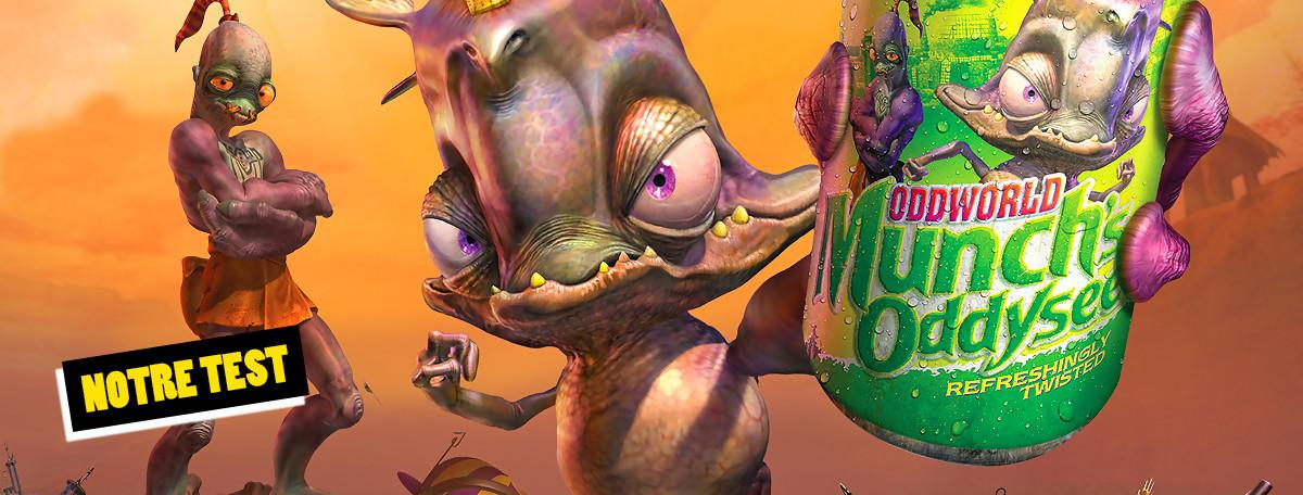 Test Oddworld Munch's Oddysee : le portage Switch qui snobe le français