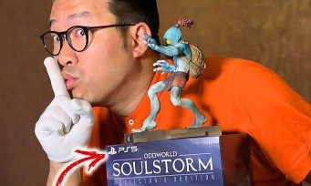 Oddworld Soulstorm : notre unboxing du collector PS5 limité à 100 copies monde