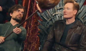 Conan O'Brien joue à Overwatch avec les stars de Game of Thrones