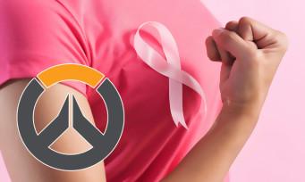 Overwatch : Blizzard lutte contre le cancer du sein