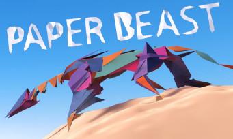 Paper Beast : voici le nouveau jeu d'Eric Chahi en un trailer époustouflant
