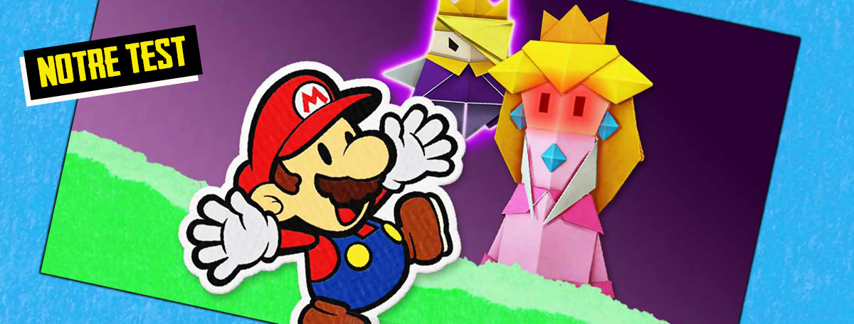Test Paper Mario The Origami King : moins RPG, plus accessible, une réussite ?