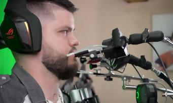 PUBG : un reportage sur RockyNoHands, un joueur tétraplégique