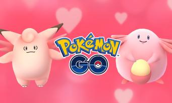 Pokémon GO : partez à la chasse à l'amour pour la Saint-Valentin