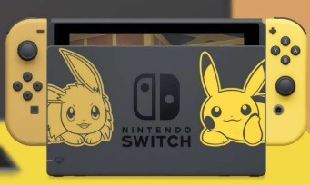 Pokémon Let's Go! : une Switch collector aux couleurs du jeu