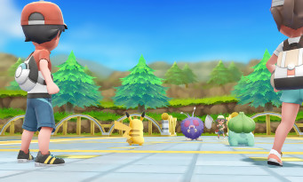 Pokémon Let's Go : Pikachu
