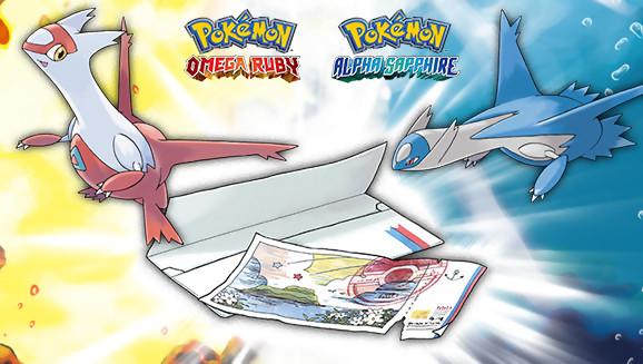 Pok mon rubis om ga saphir alpha obtenir le passe eon - Pokemon saphir pokemon legendaire ...
