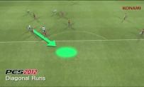 PES 2012 - Active AI : Les courses en diagonales