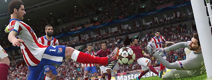 Test PES 2015 sur PS4 et Xbox One