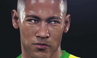 PES 2016 : Neymar sur la jaquette du jeu