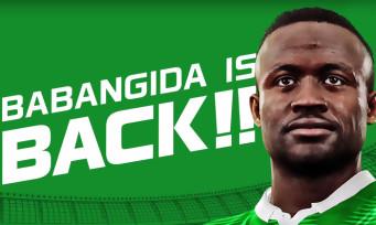 PES 2016 : trailer de Babangida
