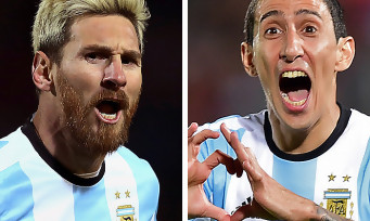 PES 2018 : une nouvelle vidéo avec Messi et Di Maria