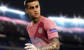 PES 2019 : découvrez le 3e maillot officiel du Barça en v idéo