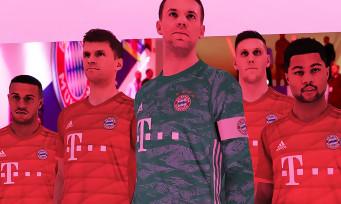 PES 2020 : une nouvelle vidéo avec les stars du Bayern Munich