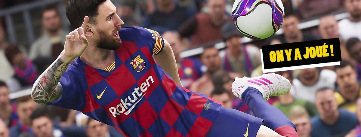PES 2020 : on y a joué, l'écart avec FIFA encore plus important ?