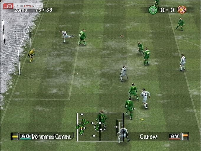 Test Pro Evolution Soccer 5