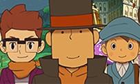 Professeur Layton et l'Héritage Azran : gameplay trailer