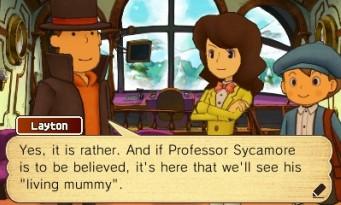 Professeur Layton et l'Héritage Azran