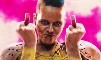 RAGE 2 : le trailer officiel a fuité et c'est plein de punks rose-bonbon