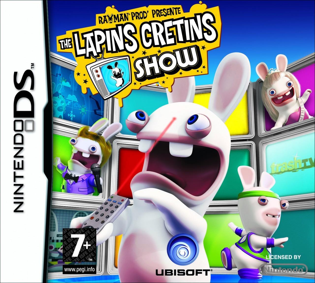 The lapins cr tins show super h ros - Jeux lapin cretain gratuit ...