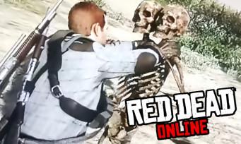 Red Dead Online : des squelettes à deux têtes ultra-agressifs apparaissent