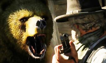 Red Dead Online : l'ours esprit doré aperçu dans Big Valley