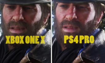Red Dead Redemption 2 : une vidéo compare les versions Xbox One et PS4