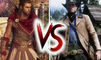Red Dead 2 VS Assassin's Creed Odyssey : comparatif des 2 open world