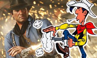 Red Dead 2 : après les Dalton, Lucky Luke est lui aussi dans le jeu