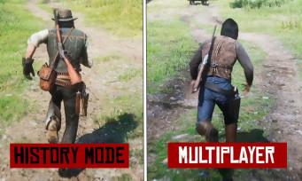 Red Dead Online : un downgrade graphique par rapport à Red Dead 2 ?