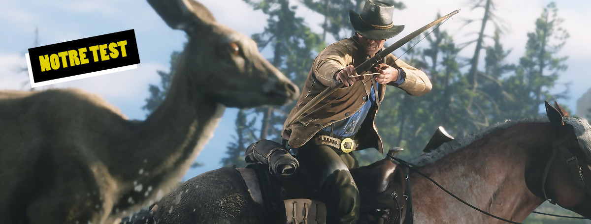 Test Red Dead Redemption 2 : le jeu met une claque sur PC