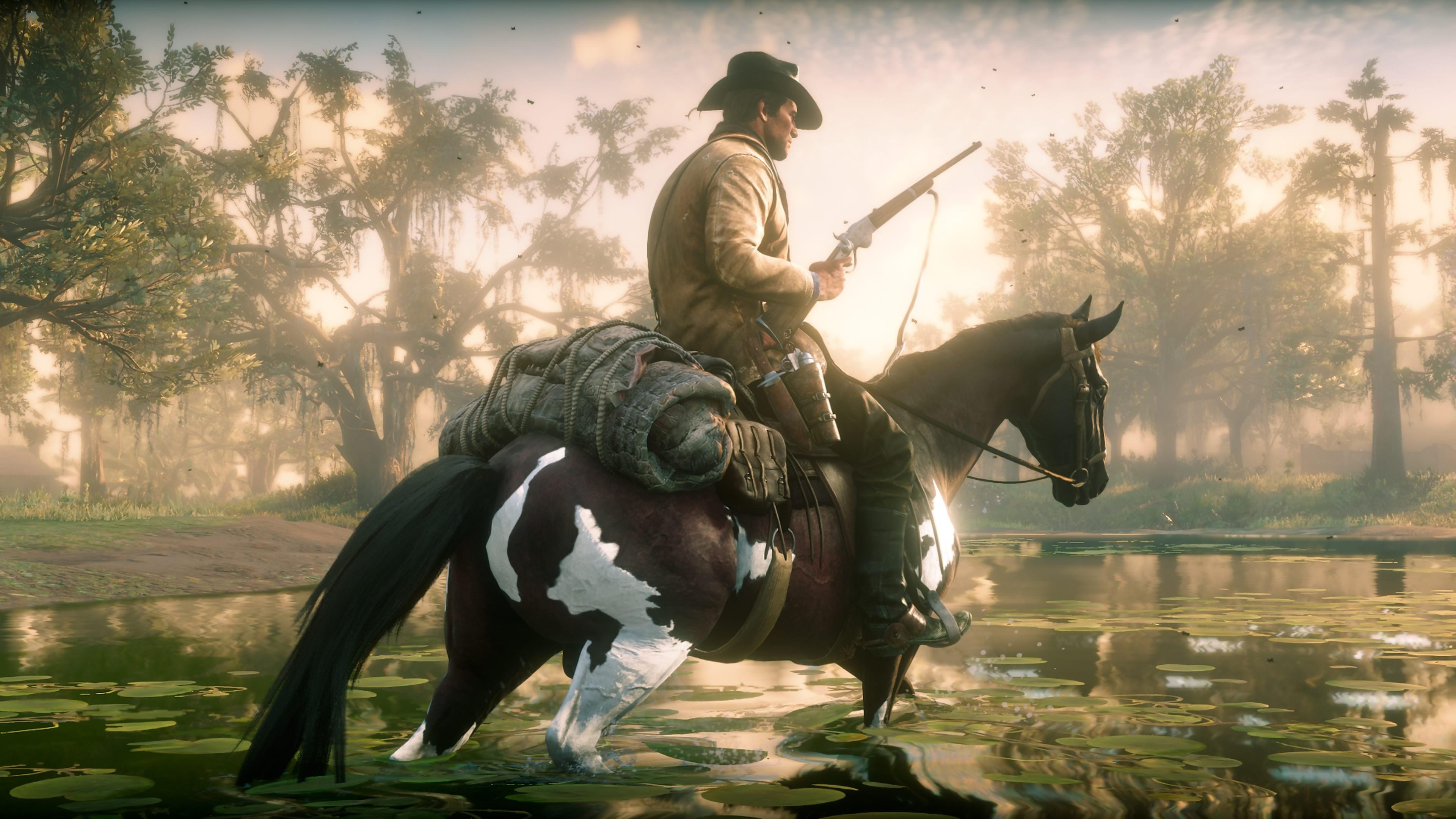 Red Dead Redemption 2 Rockstar Dit Combien Danimaux Il Y