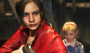 Resident Evil 2 : des images de Claire Redfield en pleine action