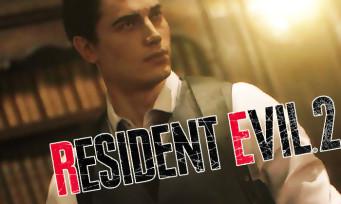 """Resident Evil 2 : une vidéo pour le costume ultra-classe """"Noir"""" de Leon"""