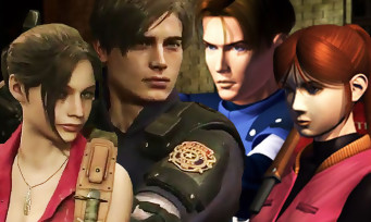 Resident Evil 2 : les costumes originaux de Leon et Claire en vidéo !