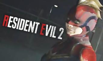 Resident Evil 2 : un mod permet carrément de jouer avec Captain Marvel !