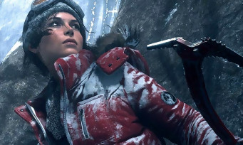 Rise of The Tomb Raider : trailer de gameplay sur glace